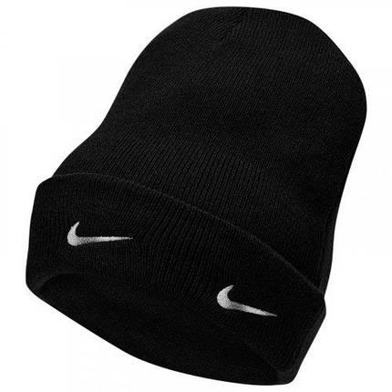Шапка Nike NSW Cuffed Beanie DA2023-010 Черный, фото 2