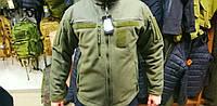 Флисовая КУРТКА SARMAT MICROFLEECE  ARMY OLIVE, фото 1