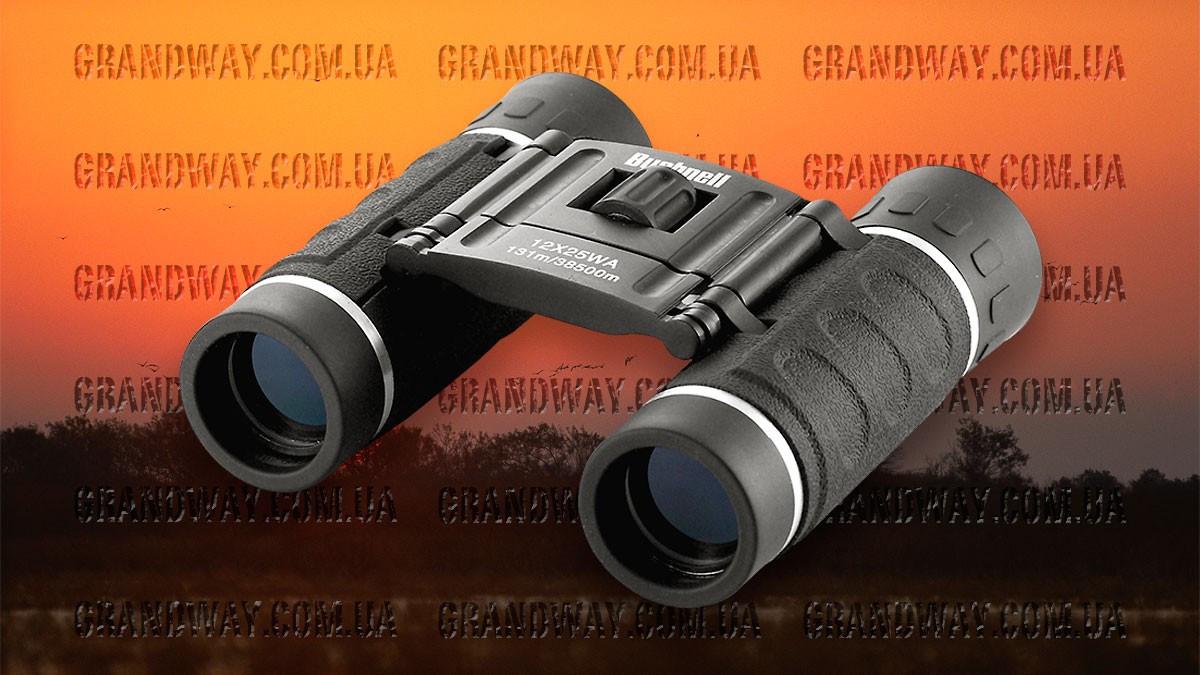 Бинокль 12x25 - BUSHNELL (black)