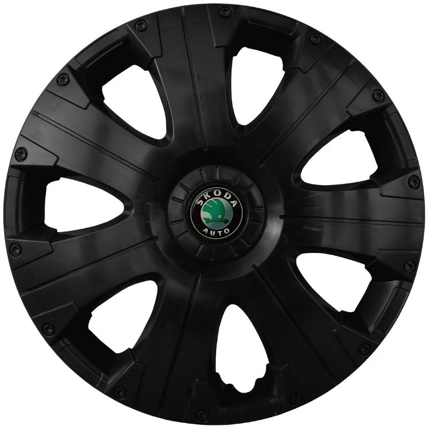 Колпак колесный Ultra R15 Skoda Черный