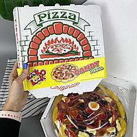 Жевательный мармелад в виде огромной пиццы в коробке Jelly Pizza 435 г
