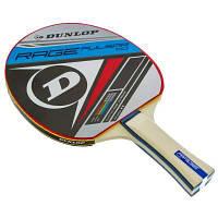 Ракетка для настольного тенниса 1 штука DUNLOP MT-679208 RAGE PULSAR (древесина, резина) Код MT-679208