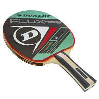 Ракетка для настольного тенниса 1 штука DUNLOP MT-679204 FLUX NEMESIS (древесина, резина) Код MT-679204