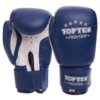 Перчатки боксерские детские на липучке TOP TEN MA-3333 (PVC, р-р 2-10 oz, цвета в ассортименте) Код MA-3333