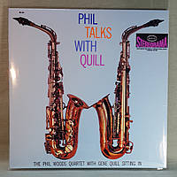 CD диск The Phil Woods Quartet With Gene Quill String In - Phil Takes With Quill, фото 1