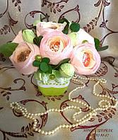 """Композиция букет цветы из конфет """"Винтаж"""""""