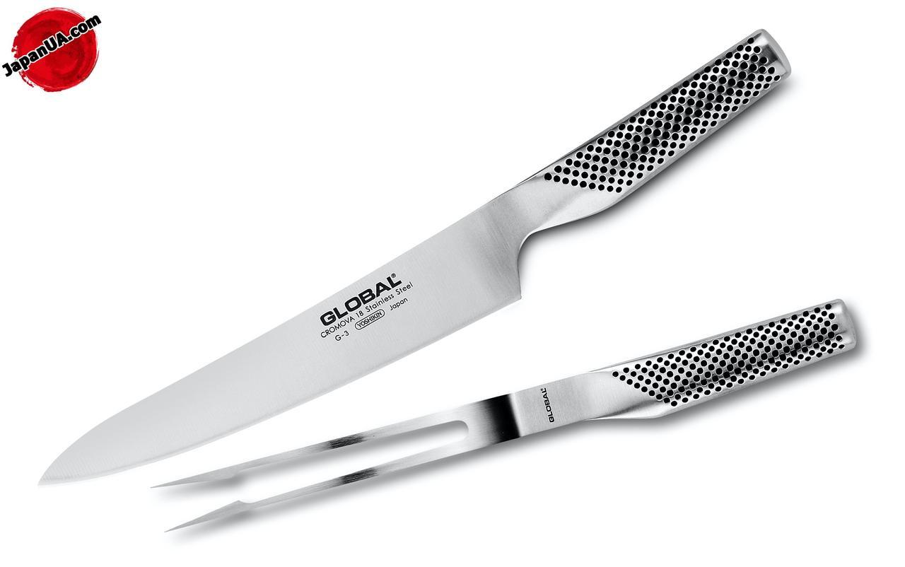 Нож Global (набор из 2-х частей)