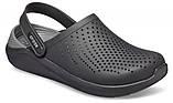Кроксы мужские Crocs LiteRide™ Clog черные 43 р., фото 4