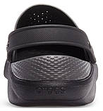 Кроксы мужские Crocs LiteRide™ Clog черные 43 р., фото 5