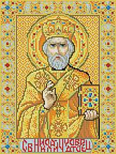 Алмазная вышивка (мозаика) 30x40 см Икона Николай Чудотворец Rainbow Art