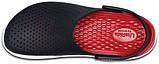 Мужские кроксы Crocs LiteRide™ Clog черные 45 р., фото 3
