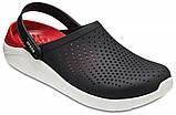 Мужские кроксы Crocs LiteRide™ Clog черные 45 р., фото 4