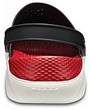 Мужские кроксы Crocs LiteRide™ Clog черные 45 р., фото 5