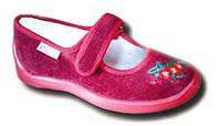Текстильная обувь для девочек (тапочки, кеды, мокасины)