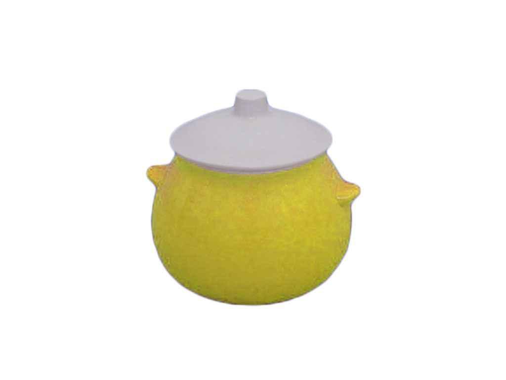 Горщик для жаркого 0,600л лимонний ТМАВАНГАРД