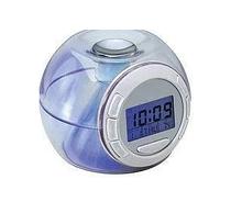 Годинник настільний, будильник 7 color light хамелеон 2092 (502)