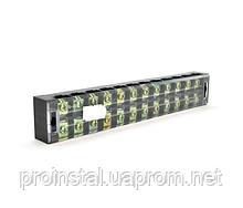 Клеммная колодка 12-разрядная TB-4512 45A - 600V, сечение провода 0,5-4,0мм2, 20 шт в упаковке, цена за штуку