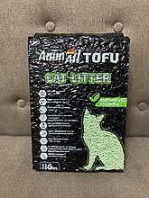 AnimAll Tofu Наполнитель соевый, с ароматом зеленого чая 6л.