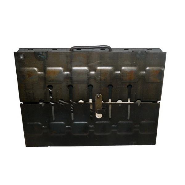 Мангал чемодан Кемпинг 6 шампуров