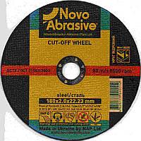Круг отрезной 180 х 2 х 22 Novoabrasive