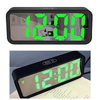 Часы настольные DT 6508 Зеленые 183581