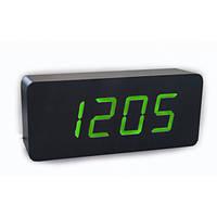 Электронные Часы Led Wooden Clock Vst 865 Зеленые 183654