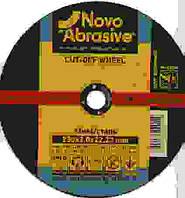Круг отрезной 230 х 2,5 х 22 Novoabrasive