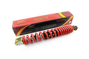 Амортизатор на Китайский Скутер 4Т 4-х тактный (Gy6), Дио (DIO)  34 / 35 ЗХ (ZX) 310мм, стандартный (красный)