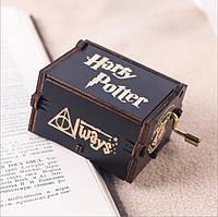 Деревянная игрушка Музыкальная шкатулка «Гарри Поттер», развивающие товары для детей.