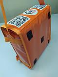 Термосумка для пиццы 32*32 на 2 коробки из ткани ПВХ. На липучках., фото 3