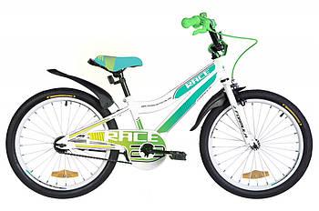 """Детский двухколесный велосипед от 6 лет с ножным тормозом 20"""" Formula RACE Белый (OPS-FRK-20-106)"""