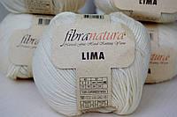Нитки для вязания Fibranatura Lima натуальный