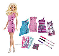 """Barbie Набор Модная дизайн-студия Барби """"Создай свое платье"""""""