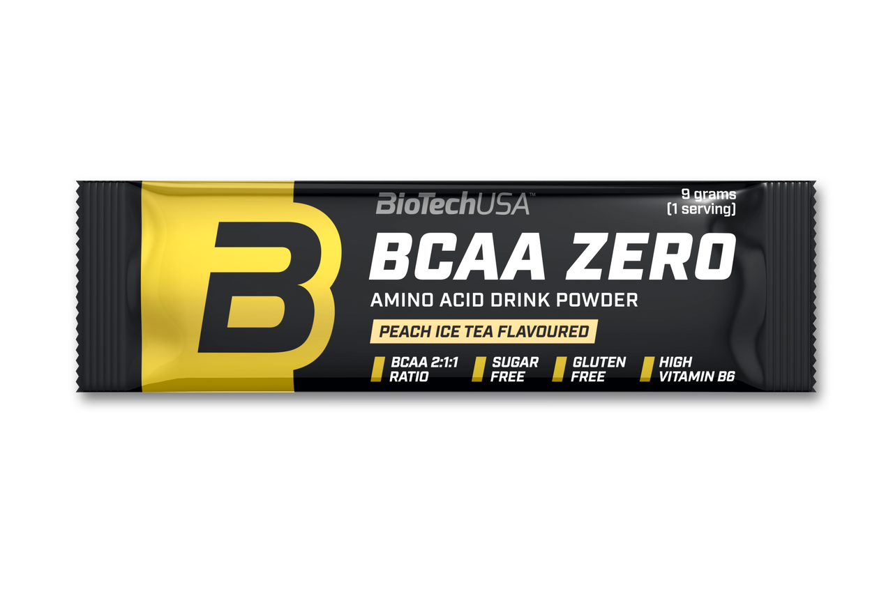 БЦАА Biotech BCAA Zero (9 г) биотеч зеро lemon ice tea