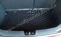 Коврик в багажник KIA Rio хетчбэк с 2015 г. (AVTO-GUMM) пластик+резина