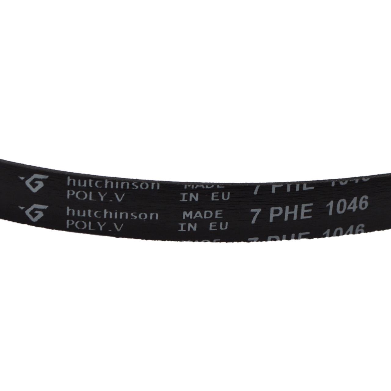 Ремень 1046 H7 EL «Hutchitson» черный