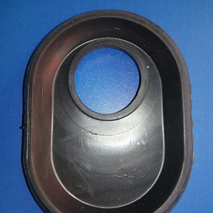 Прокладка сплошная на большой овальный фланец бойлера Ariston (не оригинал)