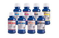 Комплект ультрахромных чернил INKSYSTEM для Epson R800, R1800 100 мл. (8 цветов)