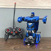 Детская игрушка робот Трансформер Lamborghini машина игрушечная на радиоуправлении на пульте для мальчиков