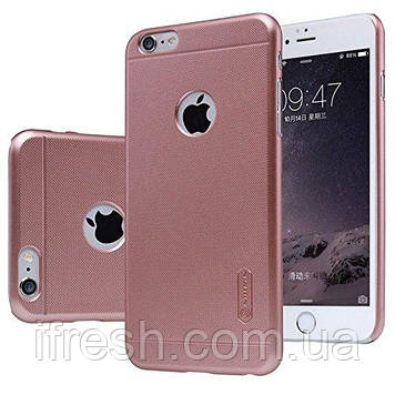 Чехол Nillkin для iPhone 6 / 6s Frosted Shield, Rose Gold