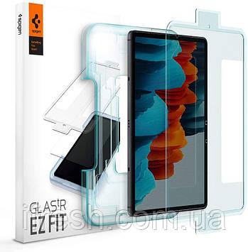 Защитное стекло Spigen для Galaxy Tab S7 EZ FIT GLAS.tR (1 шт), Clear (AGL02032)