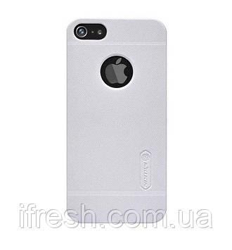 Чехол Nillkin для iPhone SE/5S/5 Frosted Shield, Matte White