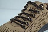 Чоловічі туфлі нубукові руді Samas 705 П-3, фото 2
