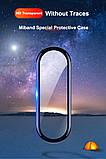 Защитная пленка для фитнес браслета Xiaomi Mi Band 5 с рамкой, комплект - 2 шт., фото 5