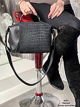 Жіноча замшева сумка 4053рз (ЮО), фото 3