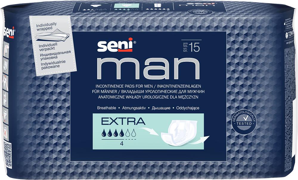 Прокладки урологические мужские Seni Men EXtra №15