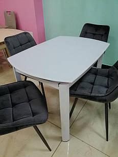 Стол стеклянный раскладной T-600-2  Vetro Mebel™