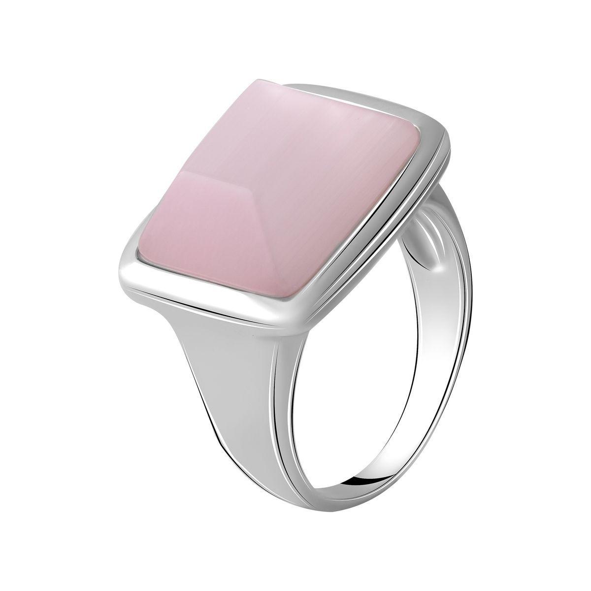 Серебряное кольцо DreamJewelry с кошачим глазом (2053767) 18 размер
