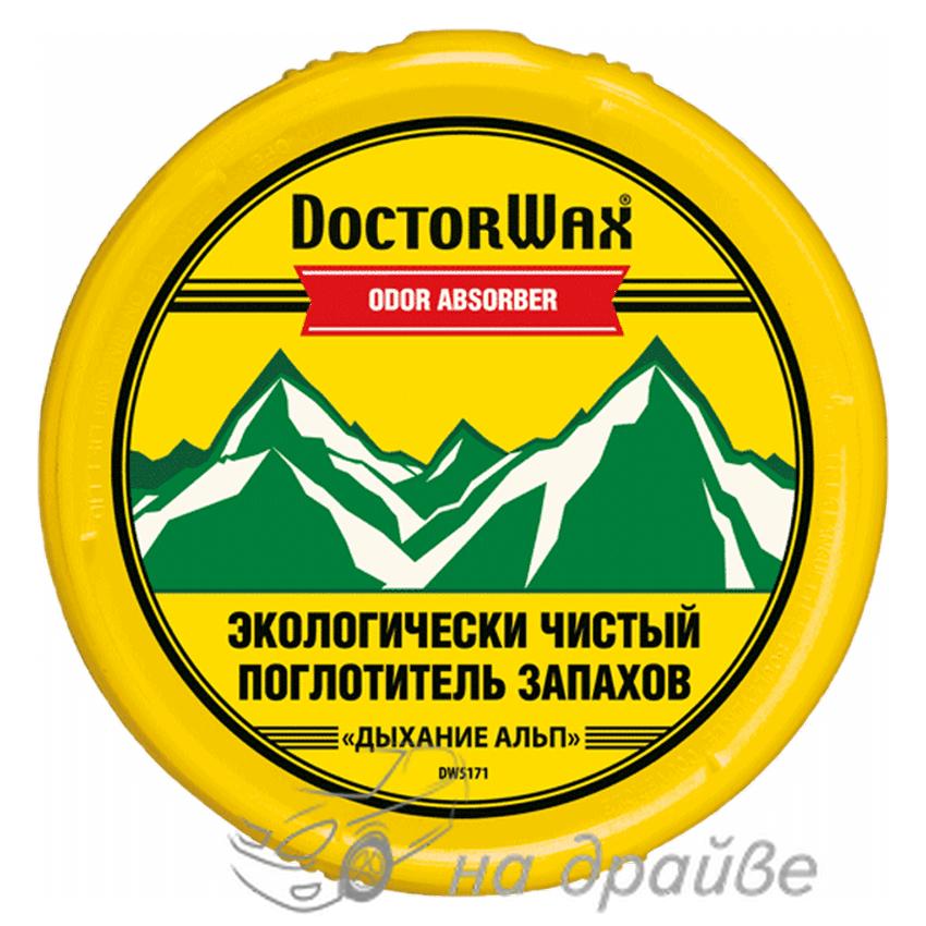 Поглотитель запаха «Дыхание Альп» 227гр Doctor Wax DW5171