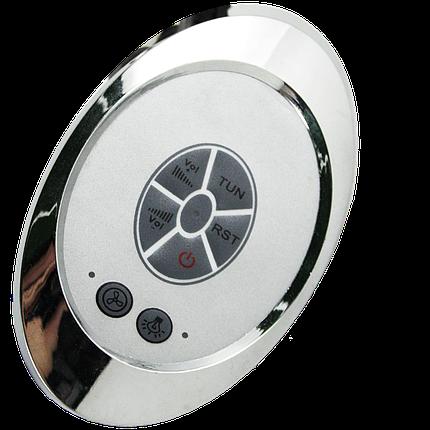 Блок управления, пульт душевой кабины кнопочный с радио ( Бу-17 ) Овальной формы., фото 2